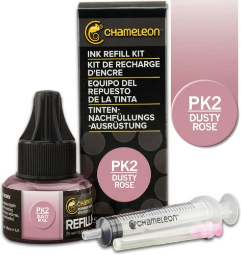 Chameleon Ink Refill 25ml - Dusty Rose PK2 (PRE-ORDER)
