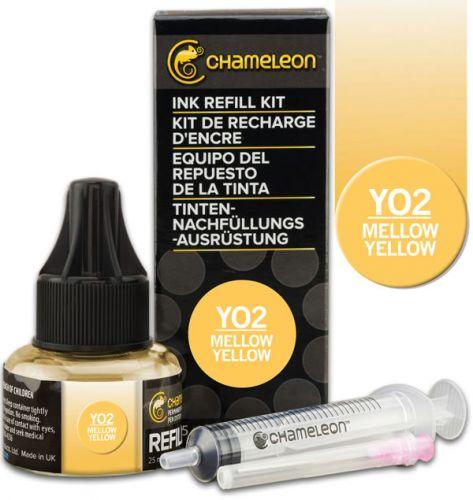 Chameleon Ink Refill 25ml - Mellow Yellow YO2 (PRE-ORDER)