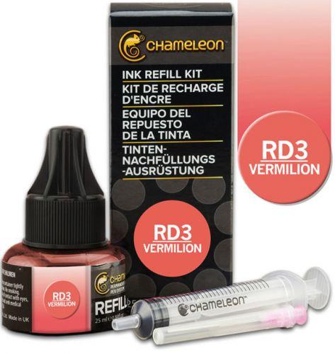 Chameleon Ink Refill 25ml - Vermilion RD3 (PRE-ORDER)