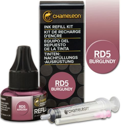 Chameleon Ink Refill 25ml - Burgundy RD5