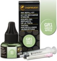 Chameleon Ink Refill 25ml - Green Apple GR1