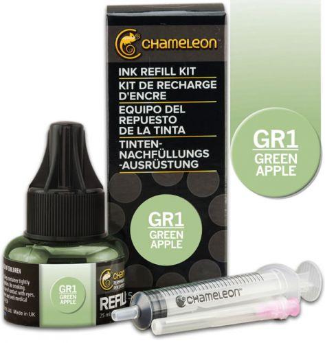 Chameleon Ink Refill 25ml - Green Apple GR1