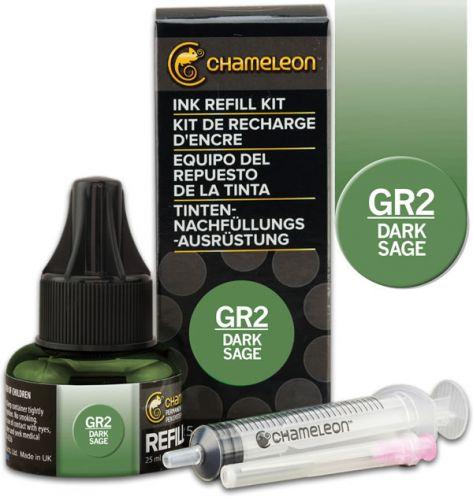 Chameleon Ink Refill 25ml - Dark Sage GR2