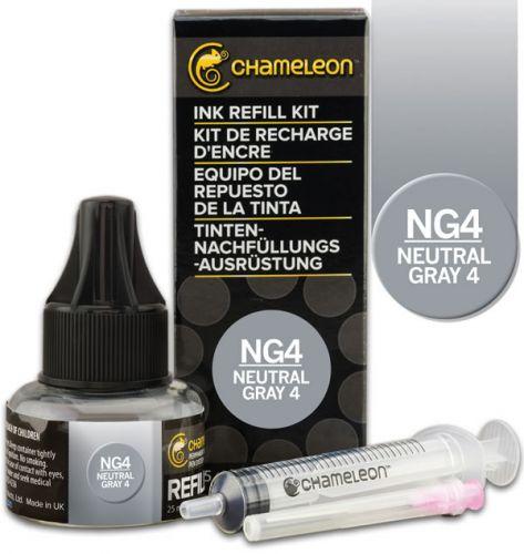 Chameleon Ink Refill 25ml - Neutral Grey NG4
