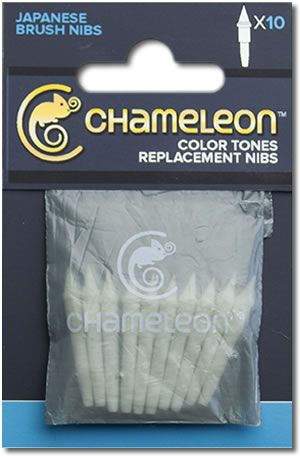 Chameleon Replacement Japanese Brush Tips - 10 Pack (OOS)