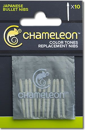 Chameleon Replacement Japanese Bullet Tips - 10 Pack