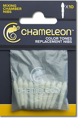 Chameleon Replacement Mixing Chamber Nibs - 10 Pack