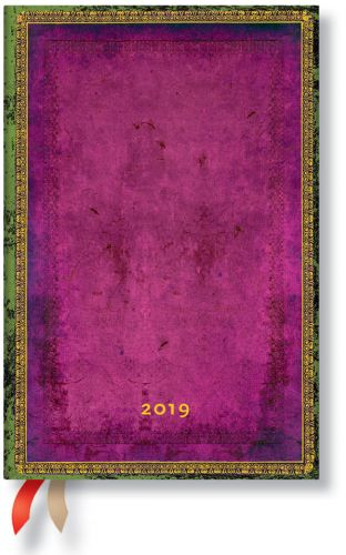 Paperblanks Byzantium Mini | Week-at-a-Time 2019 Diary HOR (NOTE: 2019)