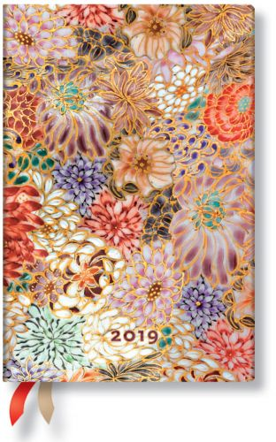 Paperblanks Kikka Mini | Week-at-a-Time 2019 Diary HOR (NOTE: 2019)
