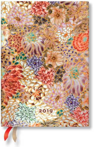 Paperblanks Kikka Midi | Day-at-a-Time 2019 Diary (NEW) (PRE-ORDER)