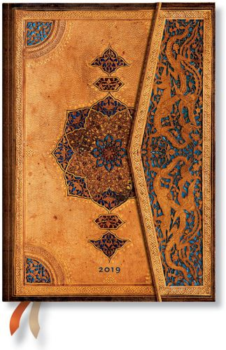 Paperblanks Safavid Midi | Day-at-a-Time 2019 Diary (OOS)