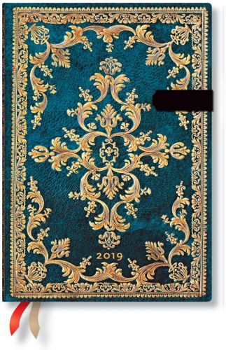Paperblanks Metauro Midi | Week-at-a-Time 2019 Diary VER (NEW) (OOS)