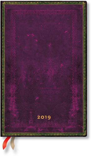 Paperblanks Cordovan Maxi | Week-at-a-Time 2019 Diary VER (OOS)