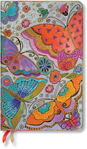 Paperblanks Flutterbyes Maxi | Week-at-a-Time 2019 Diary HOR