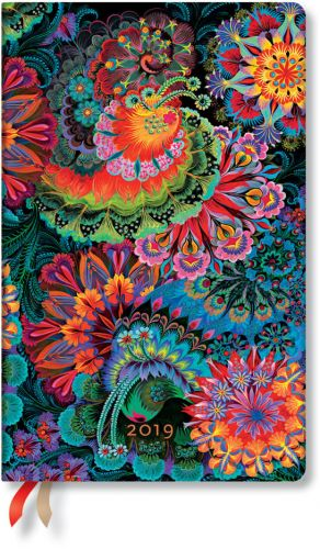 Paperblanks Moonlight Maxi | Week-at-a-Time 2019 Diary HOR (NEW) (OOS)