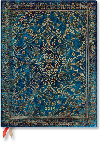 Paperblanks Azure Ultra | Day-at-a-Time 2019 Diary (PRE-ORDER)