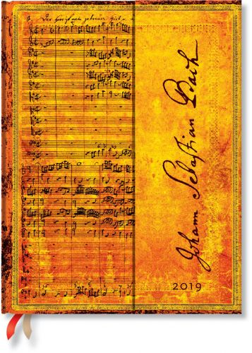 Paperblanks Bach Cantata Ultra | Day-at-a-Time 2019 Diary (PRE-ORDER)