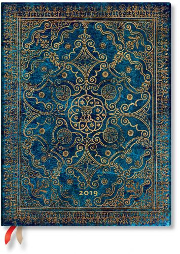 Paperblanks Azure Ultra | Week-at-a-Time 2019 Diary VER (OOS)