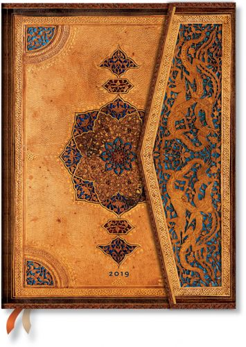 Paperblanks Safavid Ultra | Week-at-a-Time 2019 Diary VSO (PRE-ORDER)