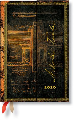Paperblanks Tesla Mini | Day-at-a-Time 2020 Diary (NEW)