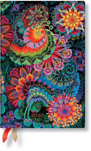 Paperblanks Moonlight Mini | Week-at-a-Time 2020 Diary HOR (NOTE: 2020)