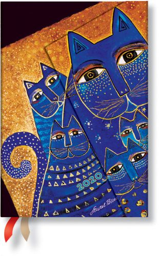 Paperblanks Mediterranean Cats Mini | Week-at-a-Time 2020 Diary HOR.