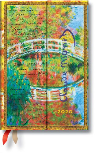 Paperblanks Monet (Bridge) Mini | Week-at-a-Time 2020 Diary HOR (NOTE: 2020)