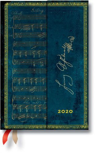 Paperblanks Schubert Mini | Week-at-a-Time 2020 Diary HOR (NEW)