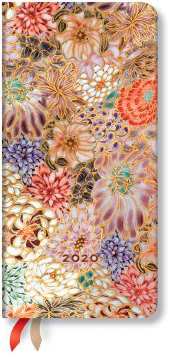 Paperblanks Kikka Slim | Week-at-a-Time 2020 Diary HOR (NOTE: 2020)