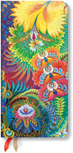 Paperblanks Dayspring Slim | Week-at-a-Time 2020 Diary HOR (NOTE: 2020)