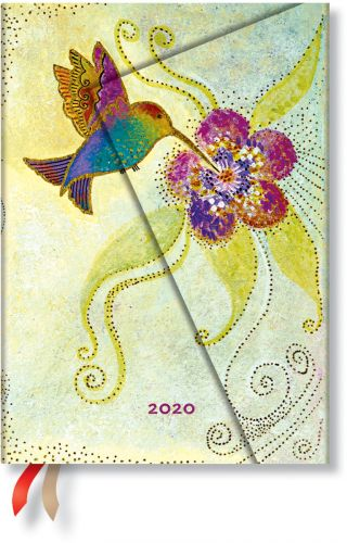 Paperblanks Hummingbird Midi | Day-at-a-Time 2020 Diary.