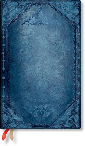 Paperblanks Peacock Punk Bold Maxi | Week-at-a-Time 2020 Diary HOR (NEW) (OOS)