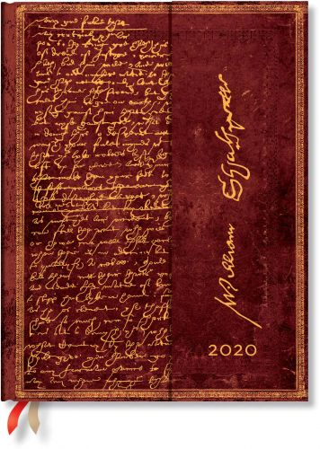 Paperblanks Shakespeare Ultra | Day-at-a-Time 2020 Diary (NEW).