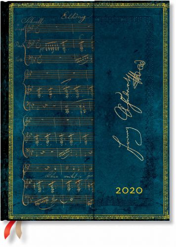 Paperblanks Schubert Ultra | Week-at-a-Time 2020 Diary VSO (OOS)