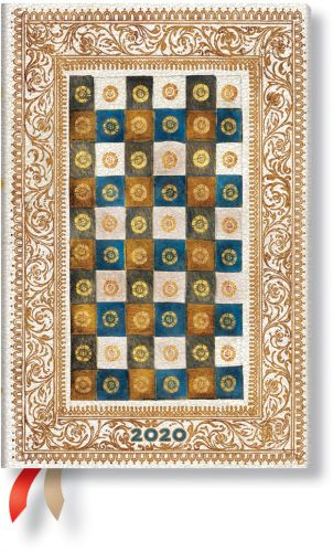 Paperblanks Aureo Flexi Mini | Week-at-a-Time 2020 Diary HOR (NEW) (PRE-ORDER)