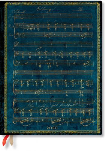 Paperblanks Schubert Flexi Ultra | Day-at-a-Time 2020 Diary (NEW)