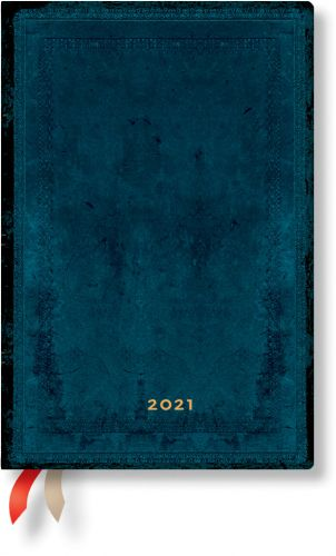 Paperblanks Calypso Bold Mini | Day-at-a-Time 2021 Diary