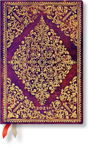 Paperblanks Viola Mini | Day-at-a-Time 2021 Diary (OOS)