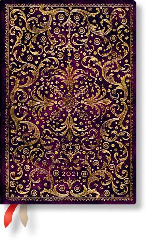 Paperblanks Aurelia Mini | Week-at-a-Time 2021 Diary HOR
