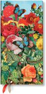 Paperblanks Butterfly Garden Slim | Week-at-a-Time 2021 Diary HOR (NEW) (PRE-ORDER)