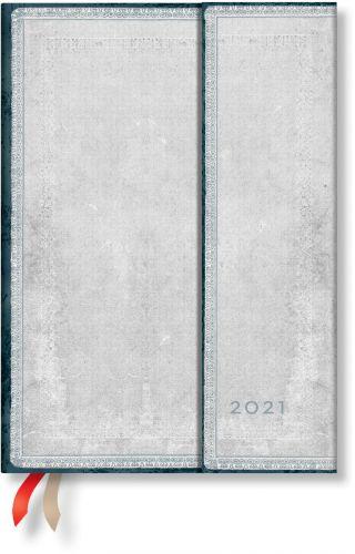 Paperblanks Flint Midi | Week-at-a-Time 2021 Diary VER (NEW) (OOS)
