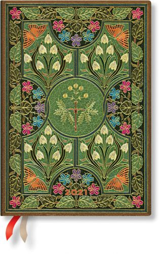 Paperblanks Poetry in Bloom Midi   Week-at-a-Time 2021 Diary VSO (RARE)