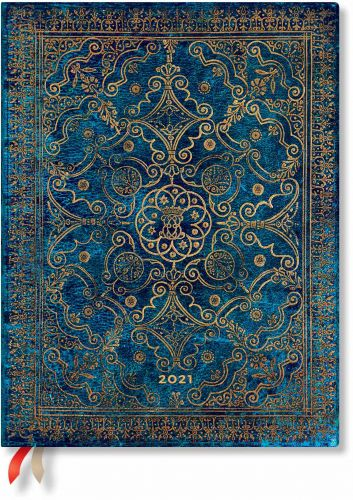 Paperblanks Azure Ultra | Day-at-a-Time 2021 Diary (PRE-ORDER)