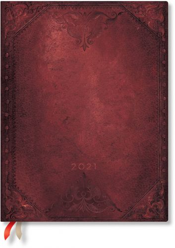 Paperblanks Urban Glam Bold Ultra | Week-at-a-Time 2021 Diary HOR (NEW)