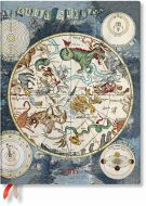 Paperblanks Celestial Planisphere Ultra | Week-at-a-Time 2021 Diary VER