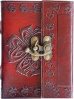 Floral Small Clasp Journal