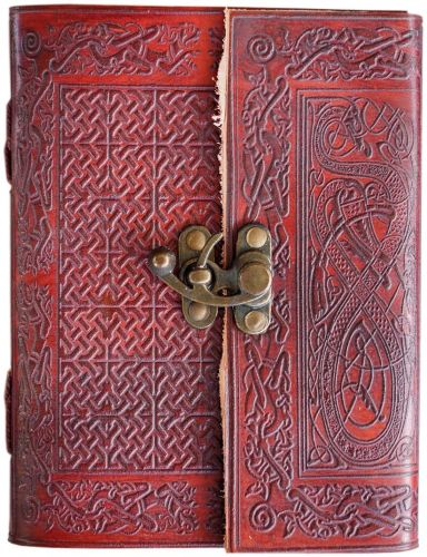Celtic Cross #2 Single Clasp Journal