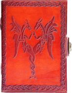 Double Dragon Side Clasp Journal