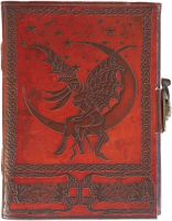 Fairy Moon Side Clasp Journal