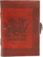 Welsh Dragon Side Clasp Journal #2